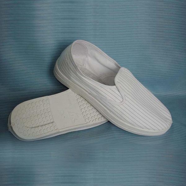 防静电鞋,导电丝面鞋 ---- 防静电布面